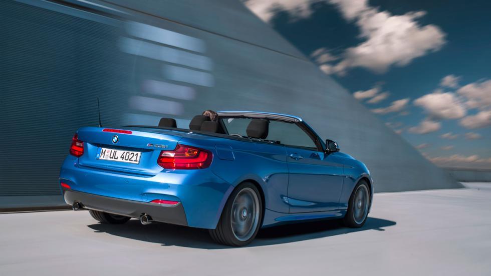 BMW m235i Cabrio trasera
