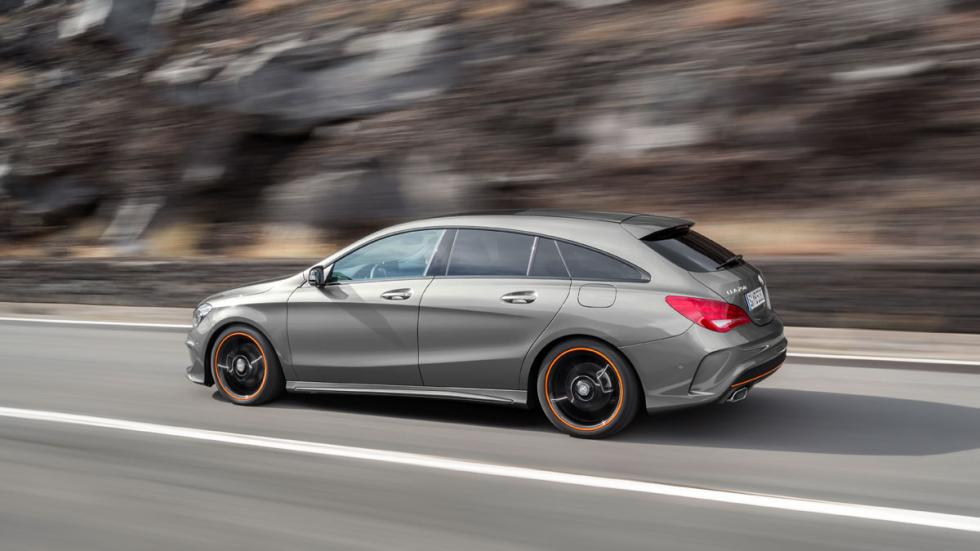 Mercedes CLA Shooting Brake motores