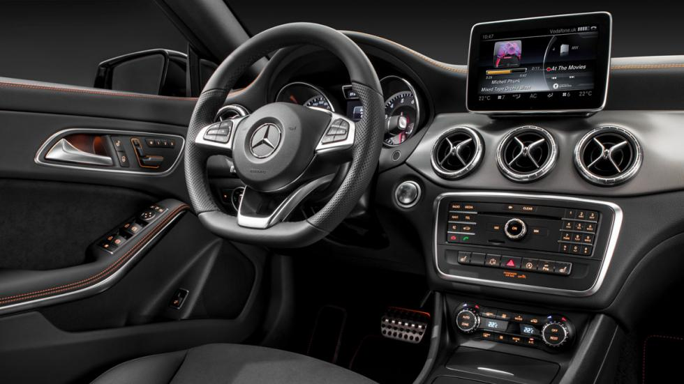 Mercedes CLA Shooting Brake pantalla