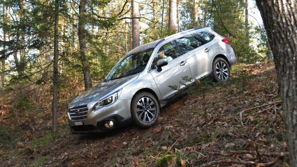 Subaru Outback 2015 descenso