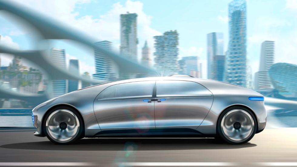 Mercedes-Benz-F015 Luxury in Motion Concept 2015 - 1