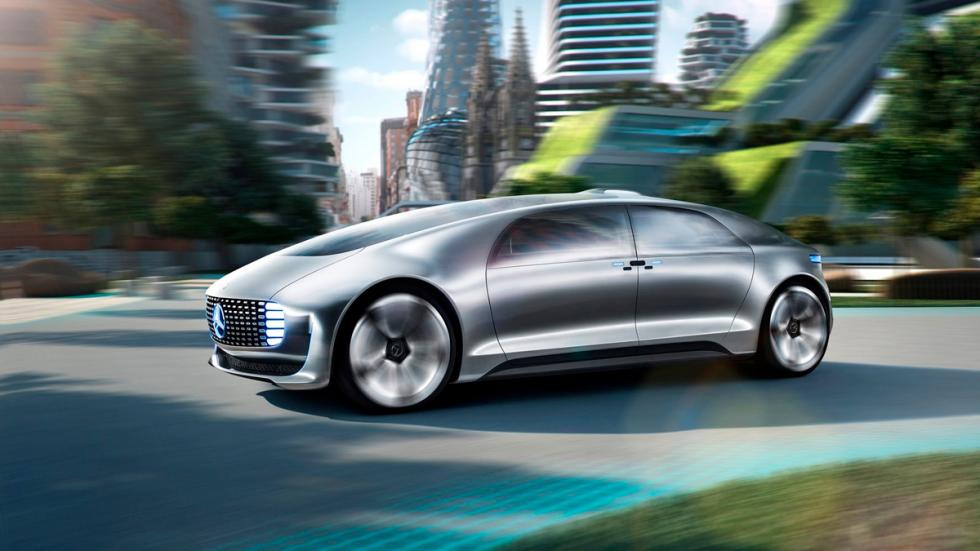 Mercedes-Benz-F015 Luxury in Motion Concept 2015 - 5
