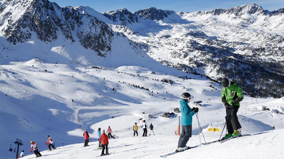 Mejores estaciones esquí España GrandValira