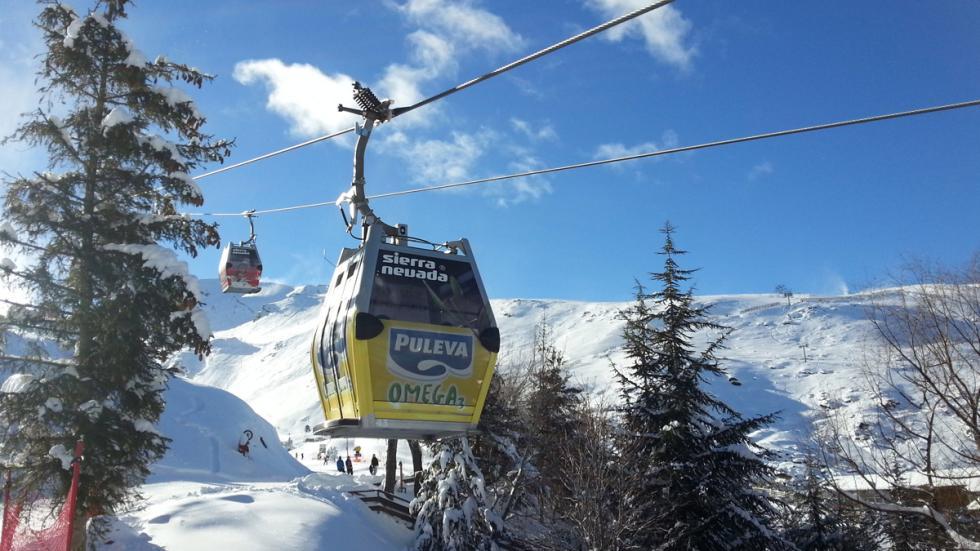 Mejores estaciones esquí españa Sierra Nevada borreguiles