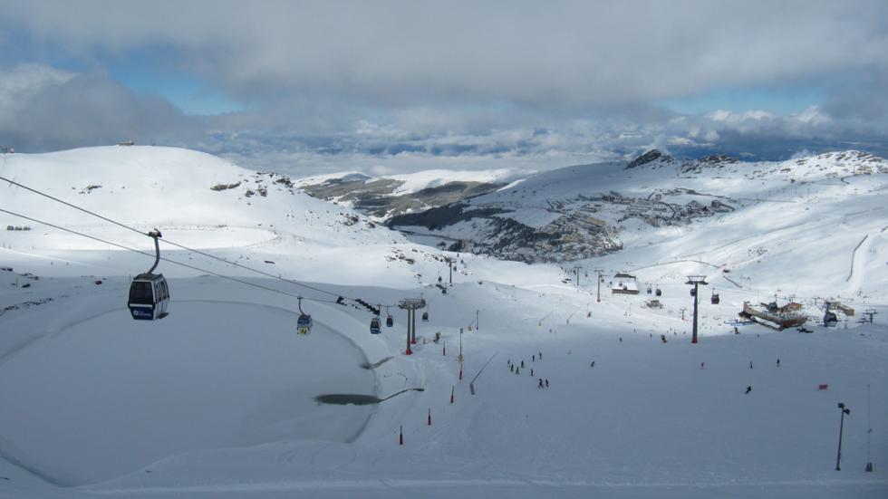 Mejores estaciones esquí españa Sierra Nevada panoramica