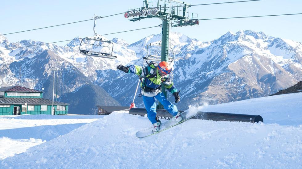Mejores estaciones esquí españa formigal panticosa snowpark