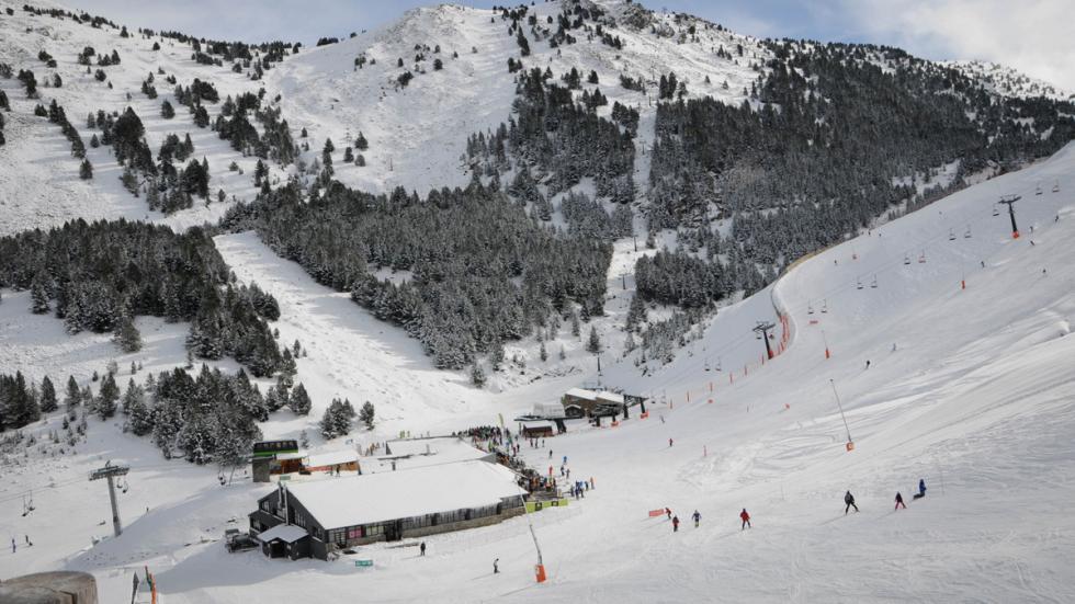 Mejores estaciones esquí españa cerler panoramica