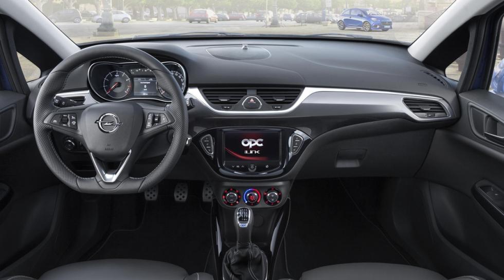 Opel Corsa OPC 2015  interior