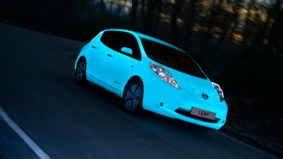 Nissan Leaf brillante