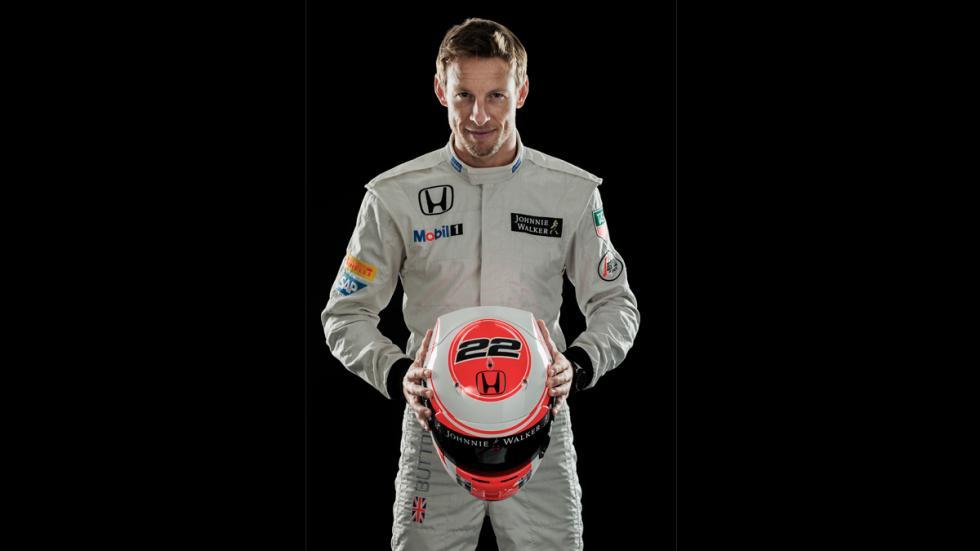 Exposición de Tag Heuer: 30 años de historia con McLaren - Jenson Button