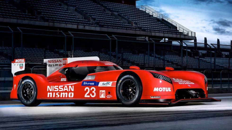 Exposición de Tag Heuer: 30 años de historia con McLaren - Nissan GT-R LMP1
