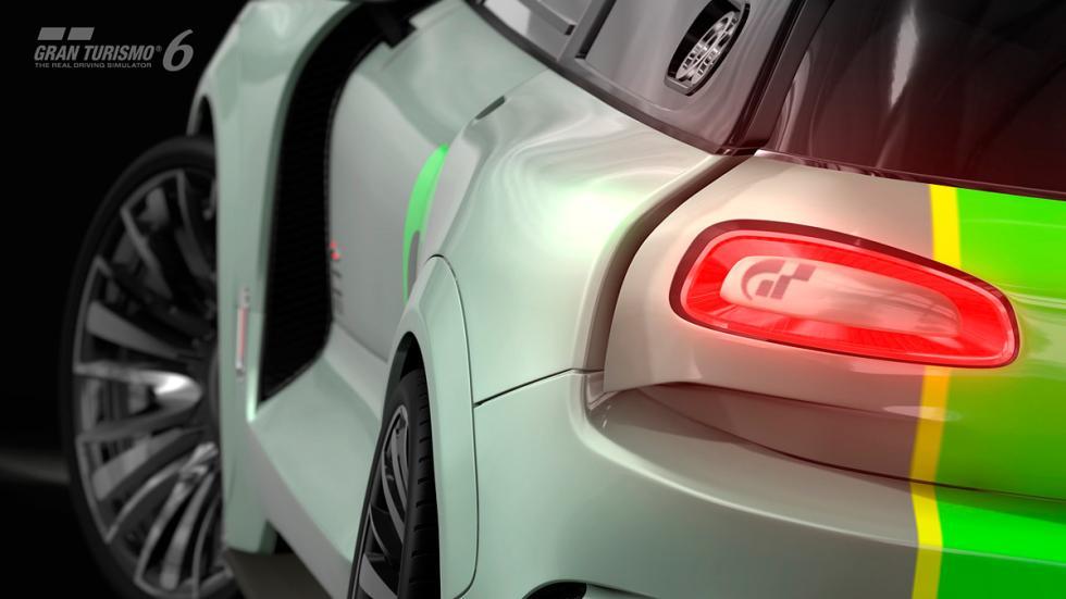 Mini Clubman JCW Vision Gran Turismo trasera