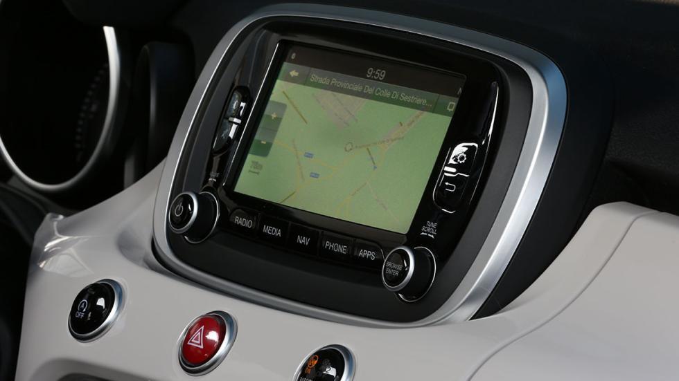 Navegador sistema Uconnect Fiat 500X