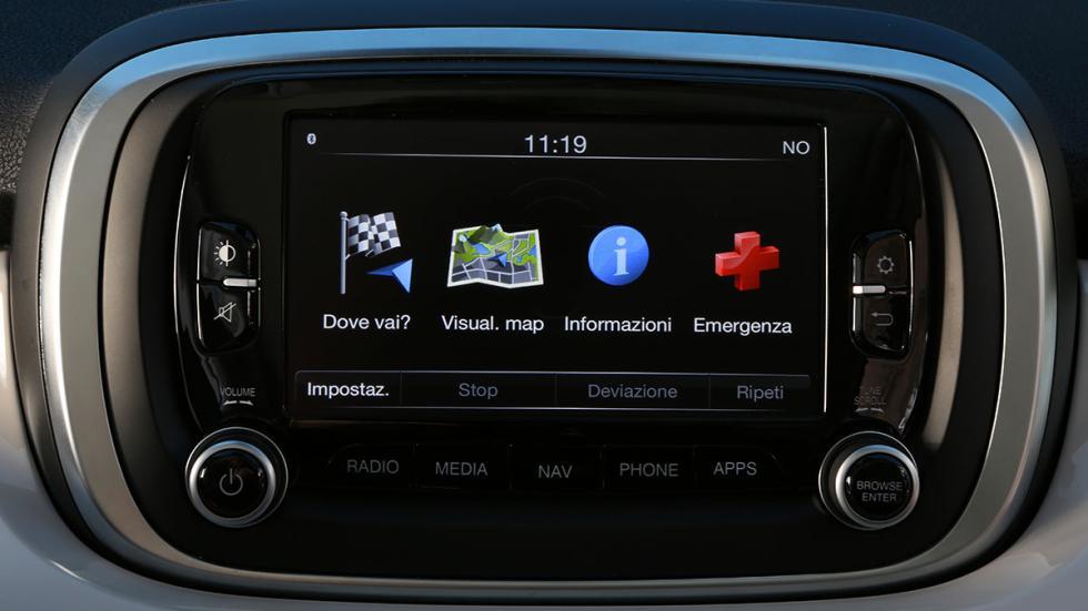 Sistema Uconnect del Fiat 500X