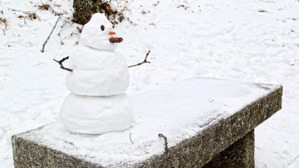 Ruta rascafria muñeco nieve