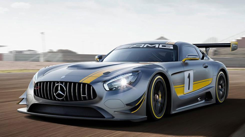 Mercedes-AMG GT3 tres cuartos delantero
