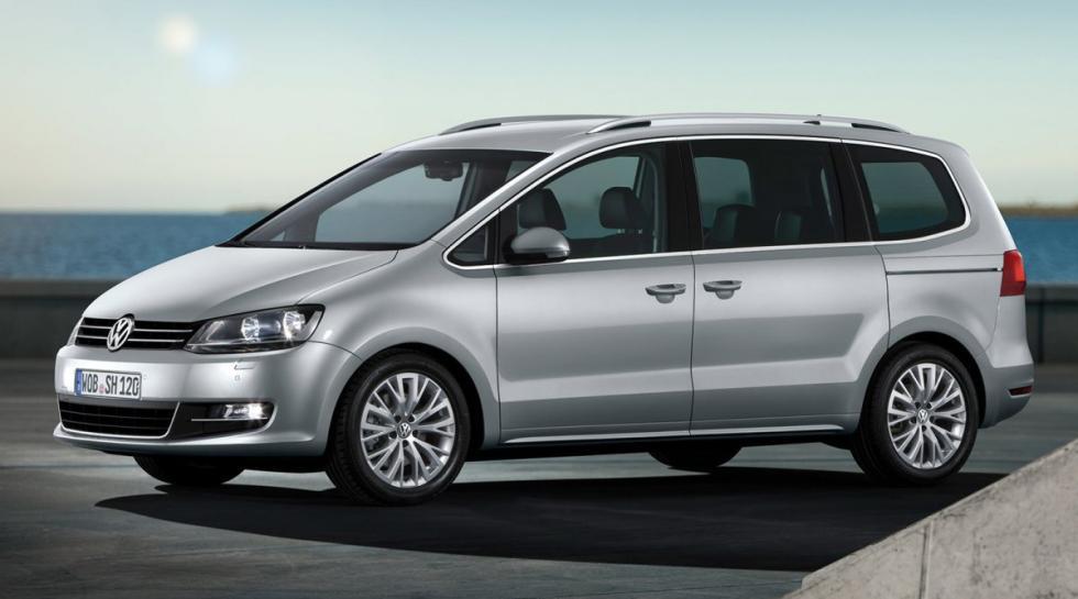 Volkswagen Sharan delantera