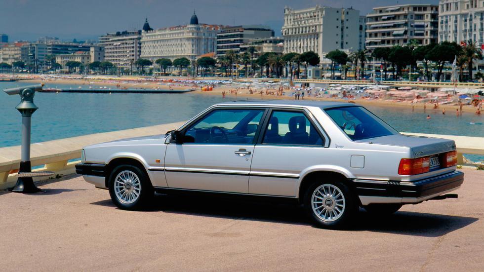 Volvo 780 Bertone trasera