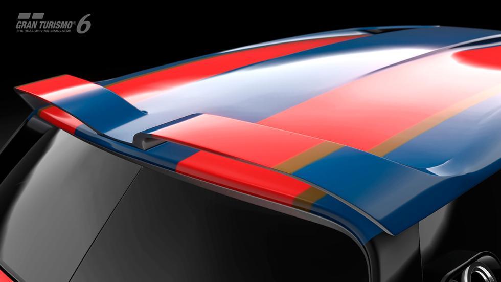 Mini Clubman JCW Vision Gran Turismo - alerón