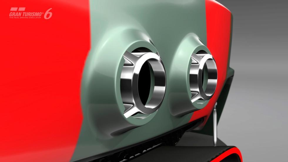 Mini Clubman JCW Vision Gran Turismo - escape
