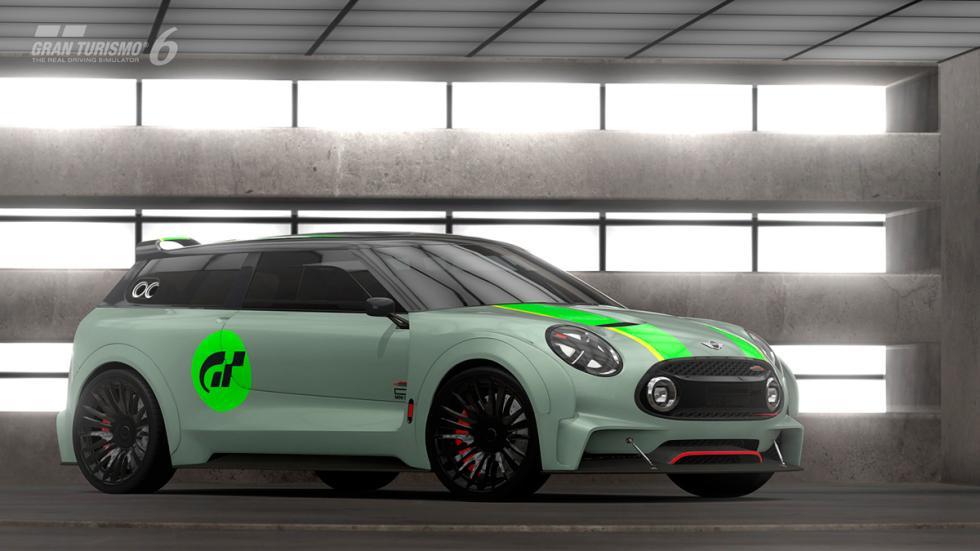 Mini Clubman JCW Vision Gran Turismo - raya verde