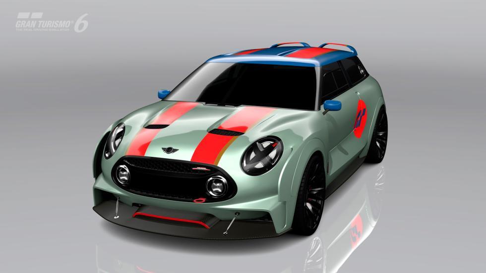 Mini Clubman JCW Vision Gran Turismo - delantera raya roja