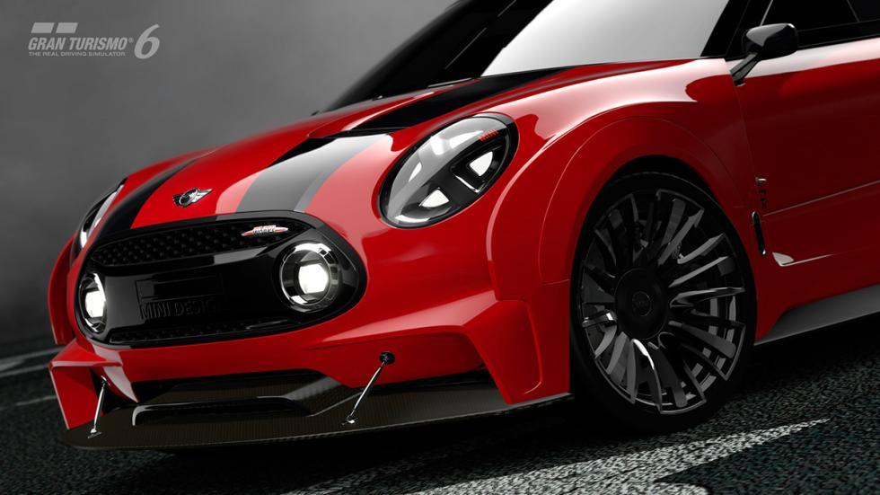 Mini Clubman JCW Vision Gran Turismo - frontal rojo
