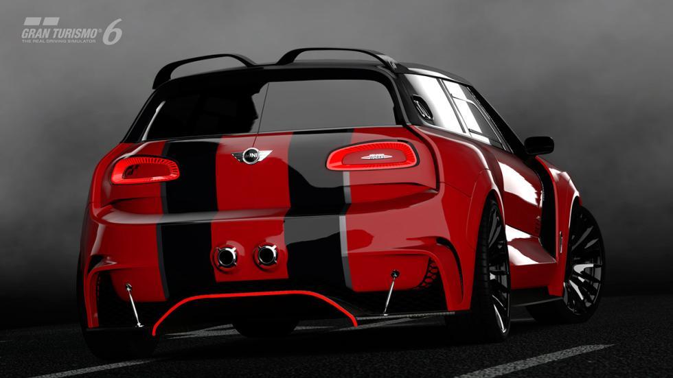 Mini Clubman JCW Vision Gran Turismo - trasera rojo