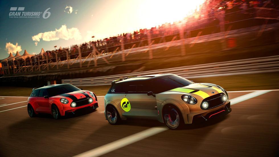 Mini Clubman JCW Vision Gran Turismo - competición