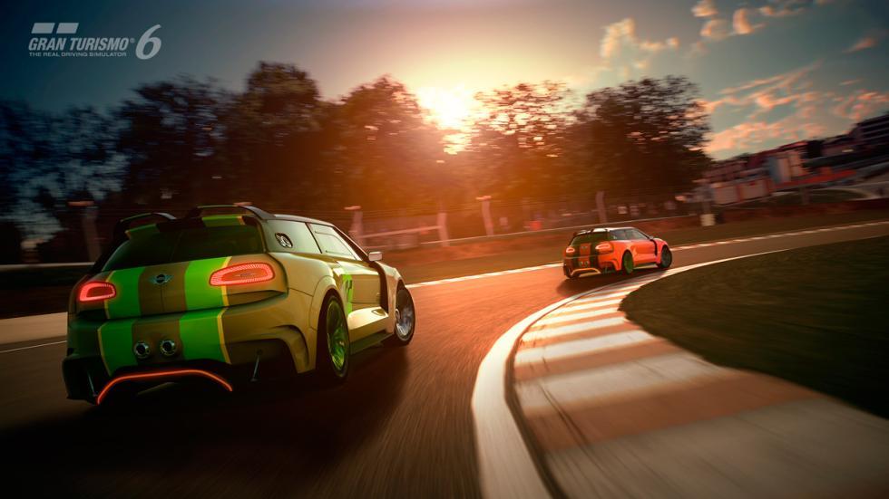 Mini Clubman JCW Vision Gran Turismo - trasera circuito