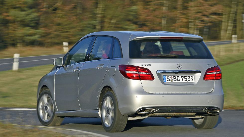 Mercedes B 200 CDI (136 CV): Oficial: 4,3l. Test: 5,7l. Desviación: 32,6%