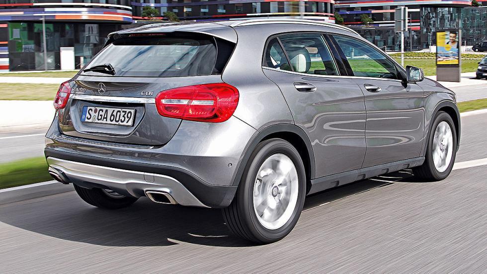 Mercedes GLA 200 CDI 7G-DCT (136 CV): Oficial: 4,3l. Test: 5,7l. Desviación: 32,