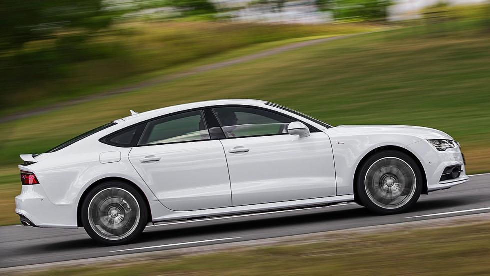 Audi A7 3.0 TDI quattro S tronic (272 CV): Oficial: 5,2l. Test: 7,5l. Desviación