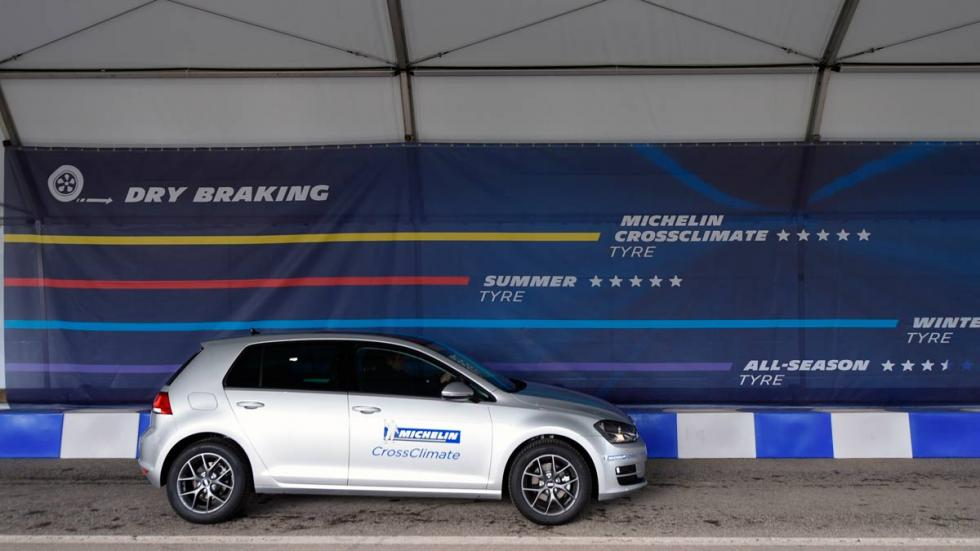 frenado del Michelin CrossClimate