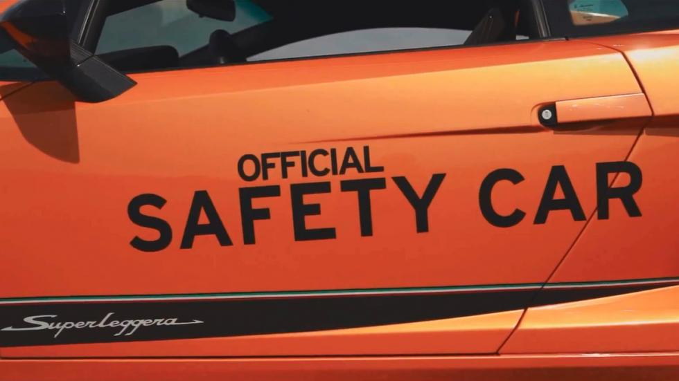 Ruta europea 6to6 - safety car