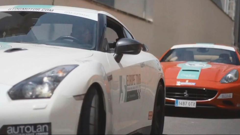 Ruta europea 6to6 - Nissan GT-R Y Ferrari