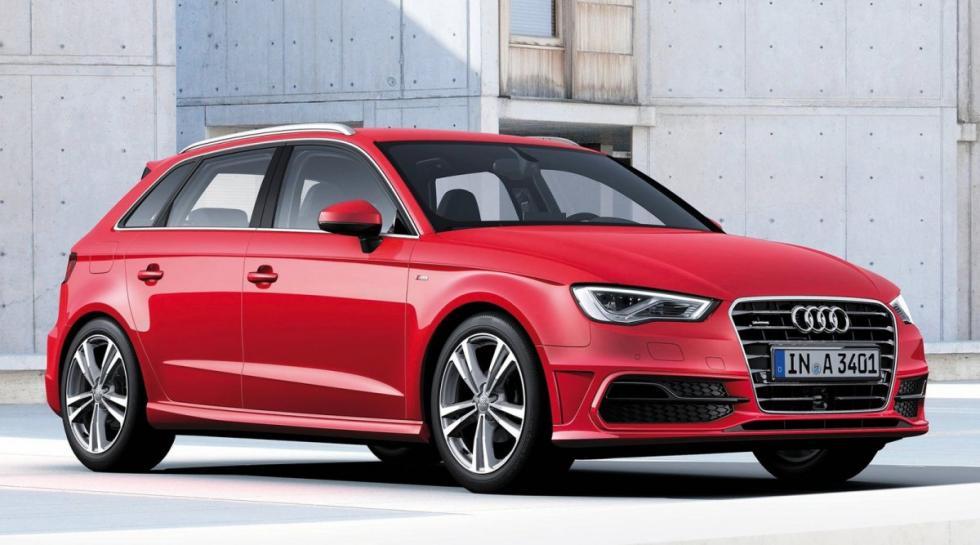 Audi A3 delantera