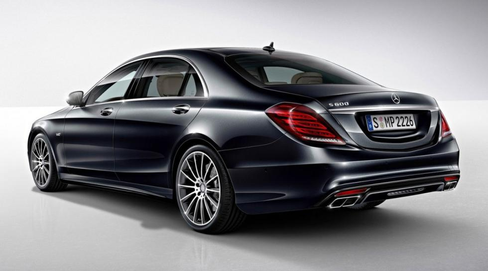 Mercedes Clase S trasera