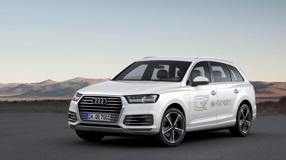 Audi Q7 e-tron frontal