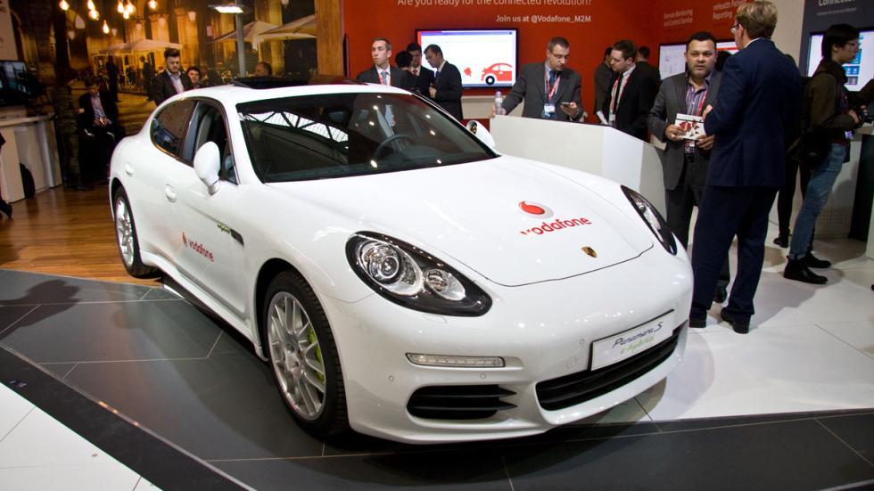 Porsche Panamera Vodafone