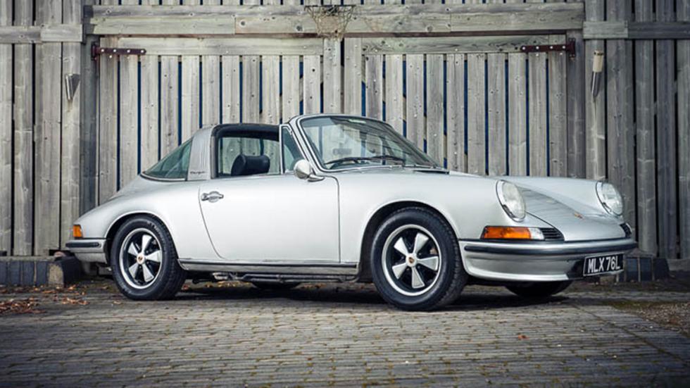 Subasta millonaria en Silverstone - 1973-Porsche-911-2.4S
