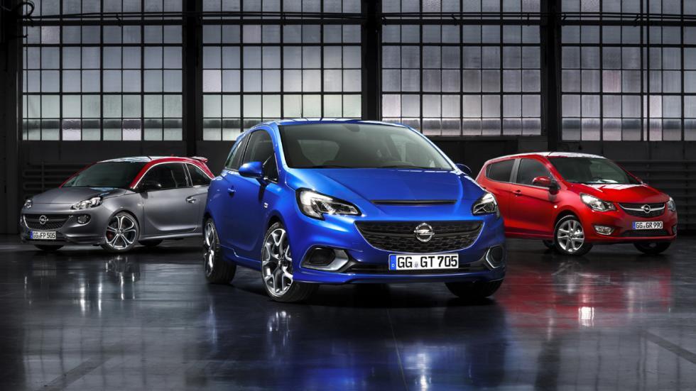 Opel Corsa OPC 2015 familia