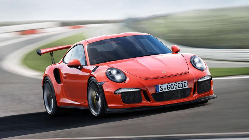 Porsche 911 GT3 RS tres cuartos delantero 3