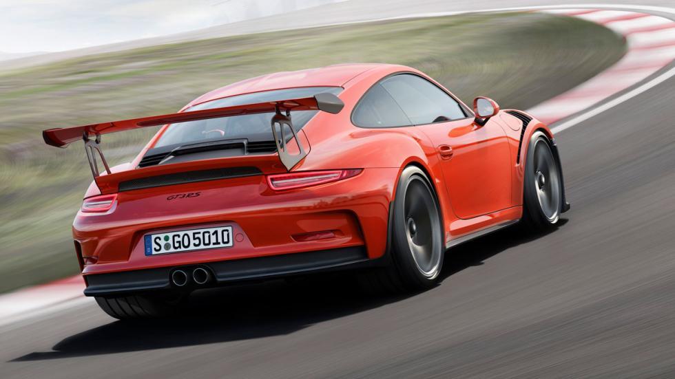 Porsche 911 GT3 RS tres cuartos trasero 2