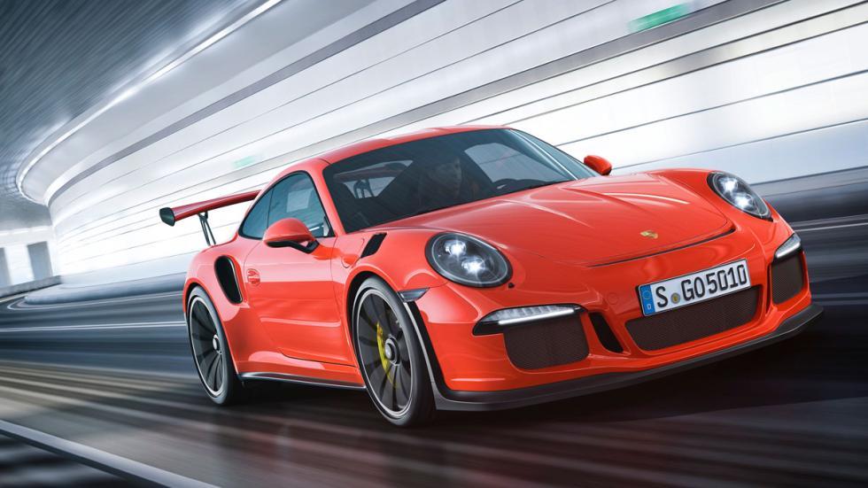 Porsche 911 GT3 RS tres cuartos delantero 4