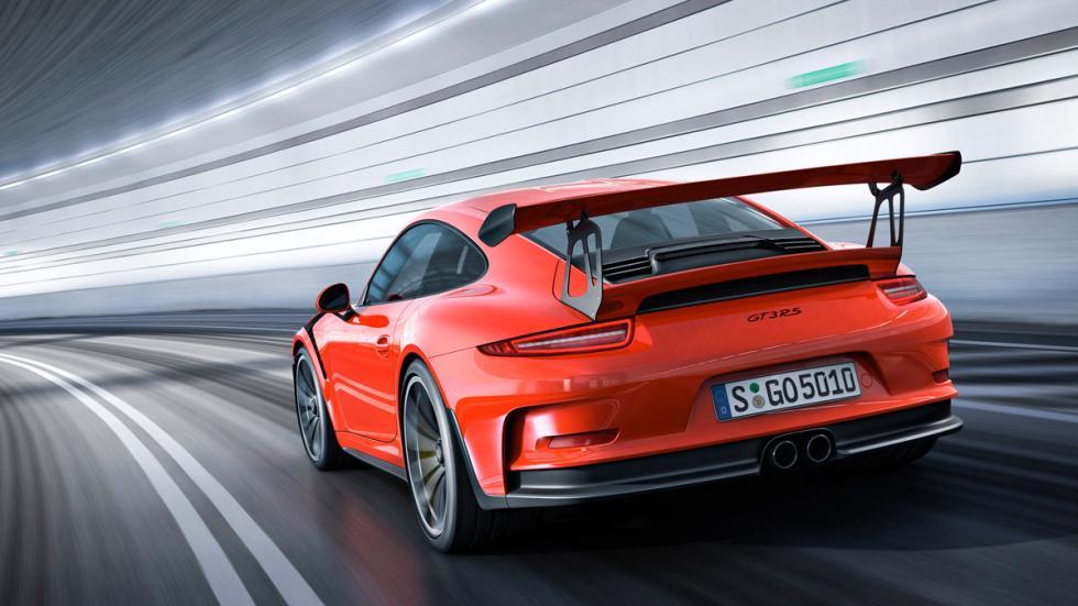 Porsche 911 GT3 RS tres cuartos trasero 3