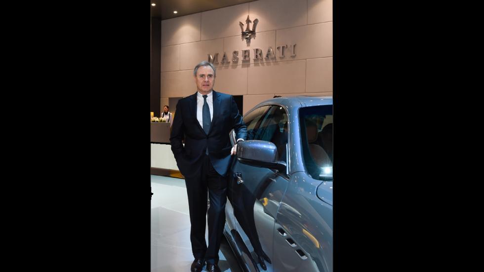 Ermenegildo Zegna firma un acuerdo con Maserati - Harald Wester exterior