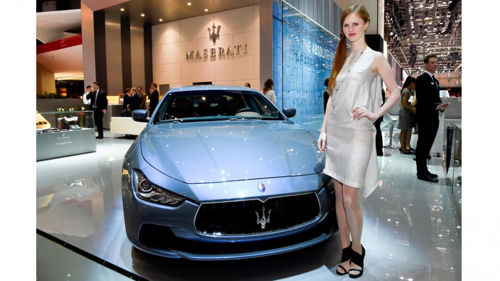 Ermenegildo Zegna firma un acuerdo con Maserati - Maserati Ghibli S Ermenegildo