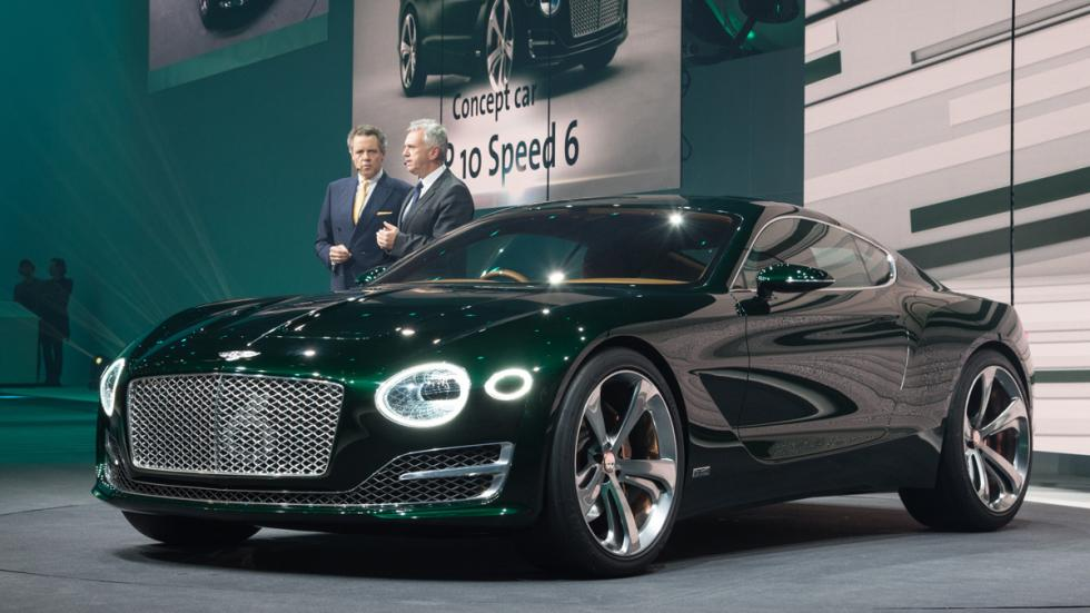 Bentley EXP 10 Speed 6 Concept delantera
