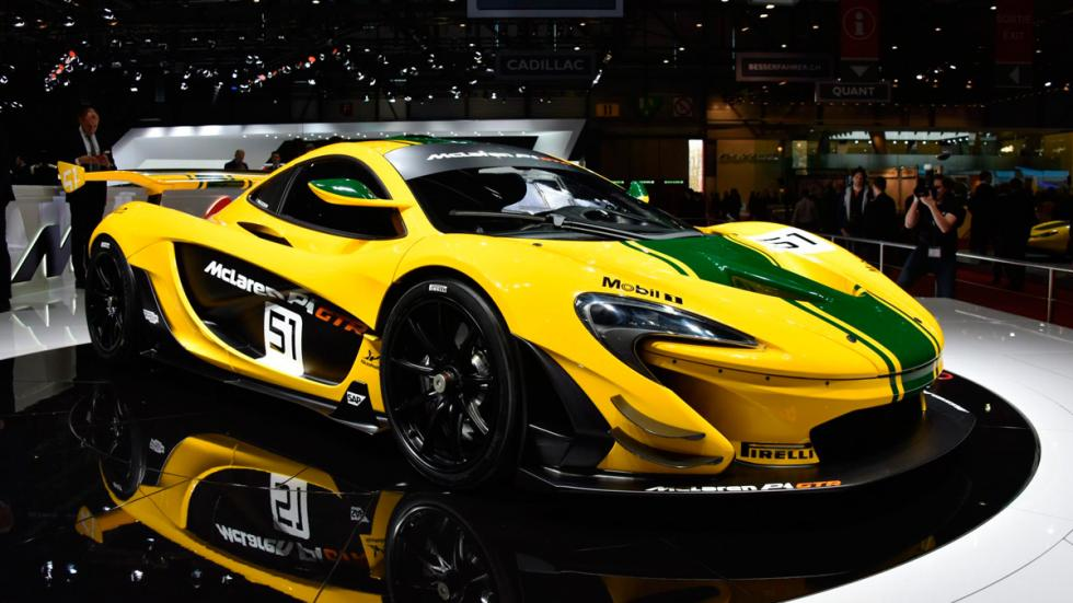 McLaren P1 GTR delantera